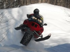 Snowmobiling @ Stillwater Reservoir, Adirondack Mountains, NY